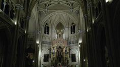 Altar mayor iglesia Sagrado Corazon