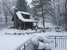 little jewel in a blanket of Carolina snow