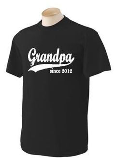 gifts for grandparents personalized tshirt $20