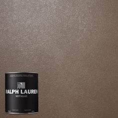 Ralph Lauren, Oyster Metallic Specialty Finish Interior Paint, at The Home Depot - Mobile (champagne) Revere Pewter, Design Seeds, Ralph Lauren Paint Colors, Ralph Lauren Paint Metallic, Fixer Upper, Sponge Rollers, Paint Paint, Interior Paint Colors, Interior Painting