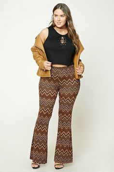 2f110d79f53 Forever 21. Chevron Pants70s OutfitsFashion OutfitsSummer OutfitsFlare ...