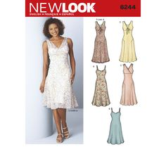 Find a pattern for Misses Dresses at Simplicity, plus many more unique patterns. Visit today!