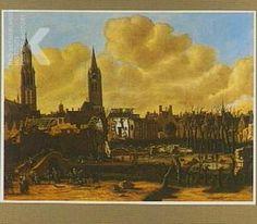 Daniël Vosmaer, Gezicht op Delft na het springen van het kruithuis op 12 oktober 1654