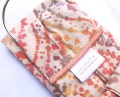 How to make your own, single and double sided, sew-in, fabric labels!