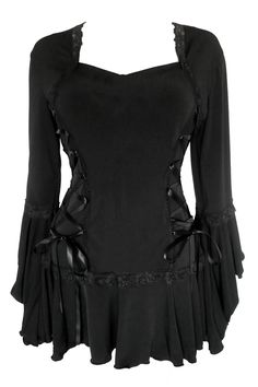 Plus Size Black Gothic Bolero Lacing Corset Top [FC29B] - $46.99 : Mystic Crypt, the most unique, hard to find items at ghoulishly great prices!