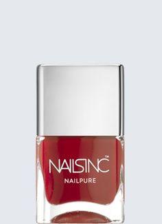 Nails Inc - NailPure - Tate (Classic Red)