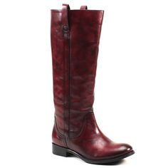 Diba Re Gina (women's) - Cherry Red Leather Cherry Red, Red Leather, Riding Boots, Kicks, Shoes, Fashion, Moda, Zapatos, Shoes Outlet