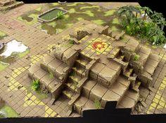 Lustria game table