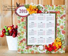 Crafting ideas from Sizzix UK: Calendar by Olga