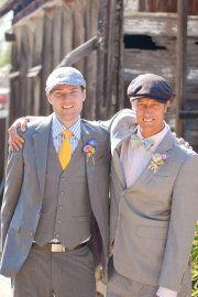 groom and best man photo idea **Trevor said he likes this**
