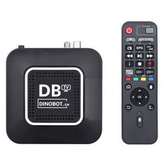 Dinobot U5 Mini 4K UHD Hybrid Receiver Dvb T2, 4k Uhd, Quad, Netflix, Smartphone, Flip Clock, Mini, Tv