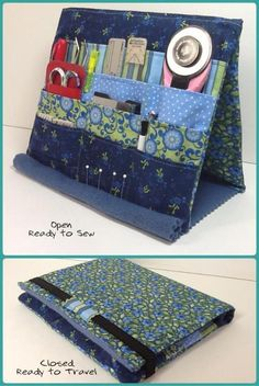 Sewing Notion and Tool Stand - PDF Sewing Pattern Tooly Tool Holder Easel by SewEasyQuilter - Craftsy Awesome 15 Sewing projects are available on our web pages. Have a look and you wont be sorry you did. 18 Useful Sewing Projects That Are Surprisingly Eas Sewing Hacks, Sewing Tutorials, Sewing Crafts, Sewing Tips, Tutorial Sewing, Bag Tutorials, Pouch Tutorial, Sewing Ideas, Pdf Sewing Patterns