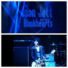Joan Jett and the Blackhearts - 9/12/13 Bridgestone Arena, Nashville, TN