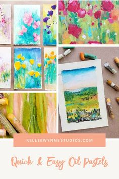 What's fun about oil pastels is that you can jump right in and start combining colors to see what you love the most. Artist, Mentor, Creative Guide #colorwithkellee LIVE every Tues at 2pm 🤗 Don't miss the $27 color course available now! 🌈 #kelleewynne #creativeguide #artcourse #originalart #artpainting #abstractartwork #abstractpaintingartwork#kelleewynnestudios #magicofoilpastels #oilpastels #oilpastelsart #oilpastelpainting #easyoilpastelpainting #easyoilpastelart Oil Pastel Paintings, Oil Pastel Art, Large Painting, Diy Painting, Art Materials List, Color Wheel Lesson, Chalk Pastels, Oil Pastels, Adult Crafts