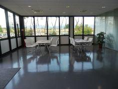 ABB realisation - Arcadia Ufficio. Kinesis furniture, operative line. Service table