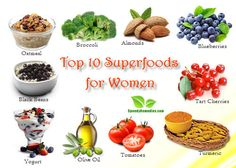 Time to get your superfoods in. Here are the top 10 superfoods for women and easy ways to get them into your daily eating habits. Healthy Food Choices, Healthy Tips, Healthy Eating, Healthy Recipes, Healthy Foods, Clean Eating, Oatmeal With Fruit, Blueberry Oatmeal, Top 10 Superfoods