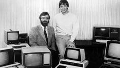 Microsoft-Gründer Bill Gates (rechts) und Paul Allen