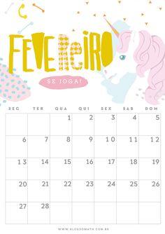 calendario ilustrado 2017 para download gratis freebie blog do math