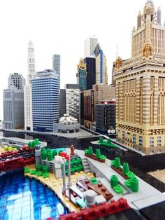 Recreating Chicago's Famous Skyline With LEGO Bricks - Neatorama