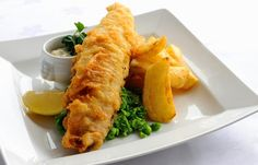 British Fish and Chips - be sure to sprinkle on malt vinegar.