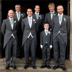 Carrie-anne & Mark's Real Wedding - The Groomswear
