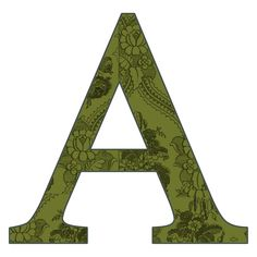 cet alphabet aux motifs délicats est proposé avec ou sans fond, en majuscules et minuscules... une très jolie création de Granny Enchanted...