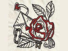 Love is the Key Machine Embroidery Designs http://www.designsbysick.com/details/loveisthekey