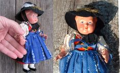 Vintage Doll Rare Doll 8 Female Doll in by OLaLaVintage on Etsy