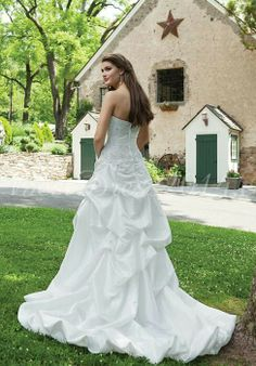 Wedding Dress : Back View