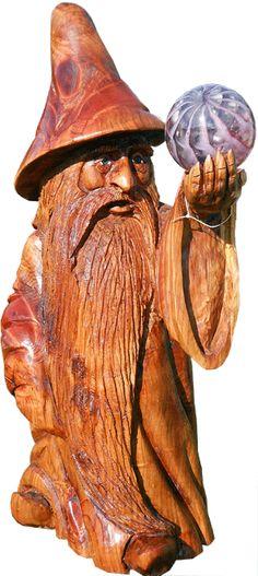 Trolls wood spirits on pinterest tree faces