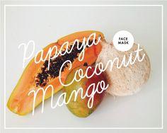 Papaya, Coconut & Mango Face Mask