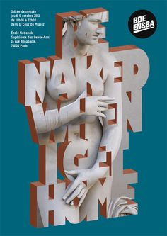 Work nº013 : Be naked when I get home - Nøne Futbol Club | Making the everyday look supernatural | Art