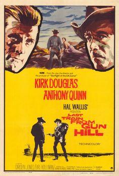 El último tren a Gun Hill El último tren a Gun Hill (Last Train from Gun Hill) es un western estadounidense de 1959. Protagonizado por Kirk Douglas y Anthony Quinn.