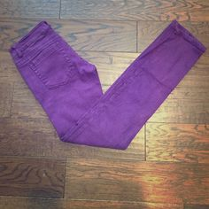 Purple spring straight leg pants Because every girl needs a little color in her life! C pink Jeans Straight Leg Purple Jeans, Every Girl, Straight Leg Pants, Fashion Tips, Fashion Design, Fashion Trends, Pink Purple, My Favorite Things, Spring