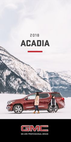 The all-new 2018 Acadia personifies our Professional Grade attitude and dedication to premium. Step in and experience an SUV that delivers refinement in every interior detail, advanced vehicle technologies, and versatile seating and cargo configurations.