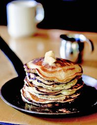 With these fluffy almost-pancakes, almost-crêpes from Blue Ribbon in New York City, you'll be more than satisfied with your brunch.