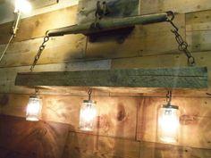 Reclaimed Barn Beam and Antique Horse Yoke by TKreclaimedART