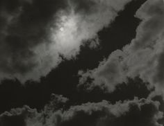 "Alfred Stieglitz. Equivalents. 1923. Gelatin silver print, 3 11/16 x 4 11/16"" (9.3 x 11.9 cm). Alfred Stieglitz Collection. Gift of Georgia O'Keeffe. © 2016 Estate of Alfred Stieglitz / Artists Rights Society (ARS), New York  Stieglitz demonstrated the expressive potential of photography with his evocative images of clouds.This picture was taken during the day, but you can't really tell"