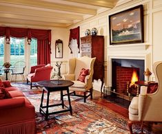 Capturing Traditions : Architectural Digest - This could well be the perfect living room to define my favorite style - refined rusticity!
