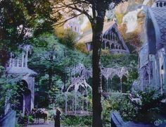 New Zealand Rivendell | Rivendell Layout Of its rivendell scenes