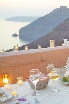 Santorini wedding packages: unique Wedding Reception venues