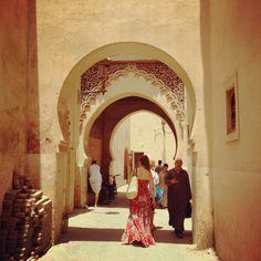 Marrakech, morocco! Beautiful architecture!