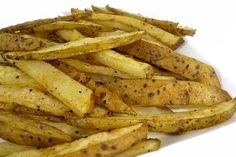 You bet! These skinny fries are a fabulously, healthy alternative to regular French fries. You'll only need 4 ingredients to create them. So simple, once the potatoes are prepped. All you do is dr…