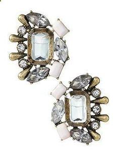 Sabine Vintage Cluster Stud Earring | Piperlime