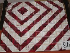 Off-center Log Cabin Barn Raising makes a whole different quilt!