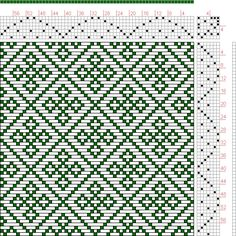 Hand Weaving Draft: Page 134, Figure 42, Donat, Franz Large Book of Textile Patterns, 7S, 7T - Handweaving.net Hand Weaving and Draft Archiv...
