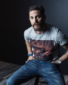Tom Hardy by Jeff Vespa for Toronto International Film Festival
