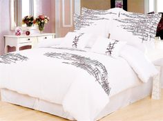 With Love Home Decor - HC™ 7pc Hotel Collection Duvet Cover Set-Lily, $119.99 Click www.withlovehomedecor.com/products/hc-7pc-hotel-collection-duvet-cover-set-lily.html for full description