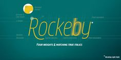 Rockeby - Webfont & Desktop font « MyFonts