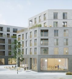 jbmn architectes - logements collectifs
